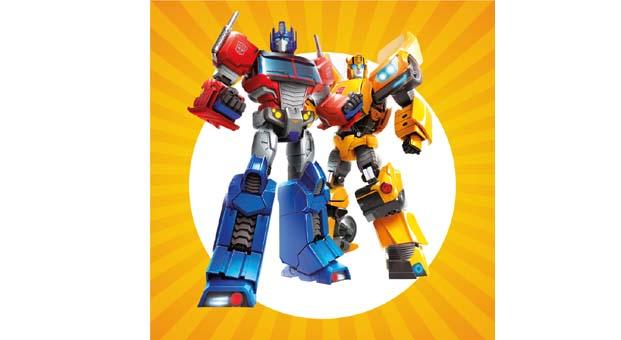 Transformers Maltepe Piazza'da