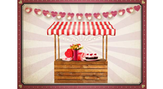 Sevgililer en güzel hediyeyi 'Aşk-ı Pazar'da bulacak