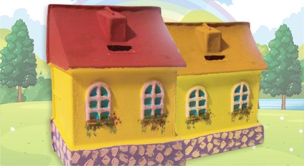 Trumpland'de çocuklar maket ev tasarlayacak