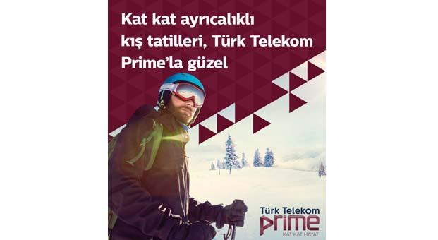 Türk Telekom Prime'dan kış mevsimini keyfe dönüştüren kat kat kış ayrıcalıkları