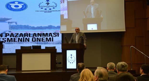 TÜMSİAD 'Büyük Türkiye için üretmeye devam' dedi