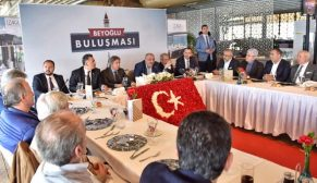 Türkeş, Beyoğlu Buluşmaları'na konuk oldu