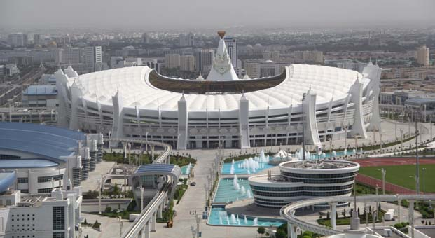 Türkmenistan AIMAG için gün sayıyor