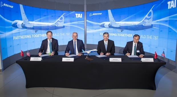TUSAŞ ve Boeing'ten işbirliği