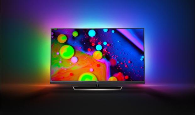Philips TV'nin yeni serisindeki Black Star; şık, ince ve düz hatlarıyla öne çıkıyor
