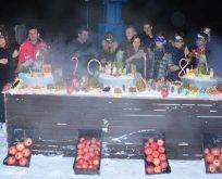 Uludağ'da yeni yıl eğlenceli geçti