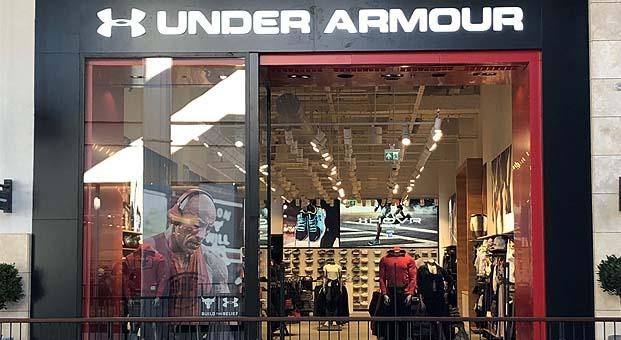Under Armour mağaza yatırımlarınaİzmir ile devam ediyor