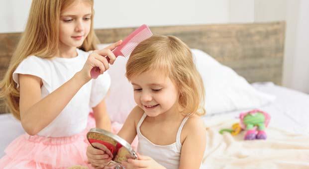 Uni Baby tarama spreyi ile saçlar yumuşacık oluyor