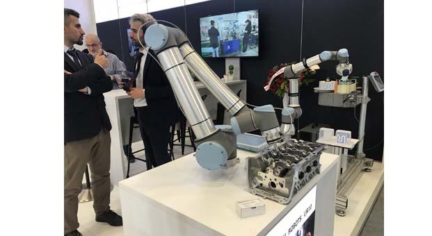 Universal Robots, 50'den fazla cobot'uyla 2019 WIN Euroasia'da
