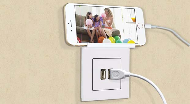 USB'li şarj prizi hayatı kolaylaştırıyor