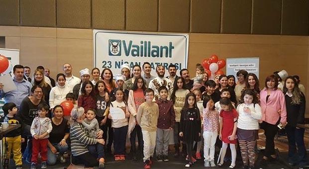 Vaillant Türkiye 23 Nisan'da çocukların Bayram sevincini paylaştı