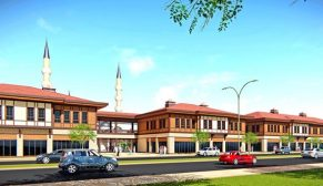 Van Erciş'e kentsel dönüşüm kapsamında 407 dükkân ve 48 ofis