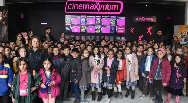Cinemaximum Vanlı çocuklarısinema ile tanıştırdı