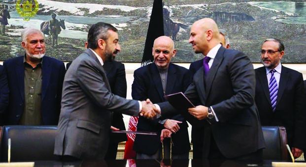 Vefa, Afganistan devletinefabrika kuruyor