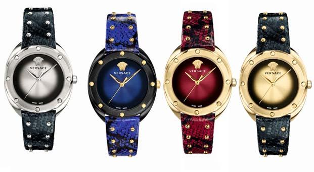 Versace Shadov saat koleksiyonu ile ihtişamın ışıltısı bileklerinzde – Sonbahar-Kış 2018/2019