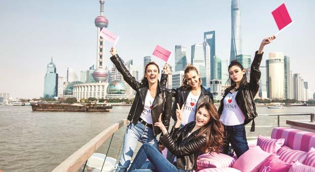 Victoria's Secret'ın heyecanla beklenen gösterisi Şangay'da