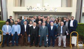 Türkiye'nin temizlik üssü Viking, fabrikasının kapılarını PERDER'e açtı
