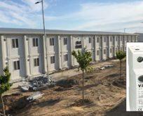 Sancaktepe'deki dev pandemic hastanesine Viko kalitesi