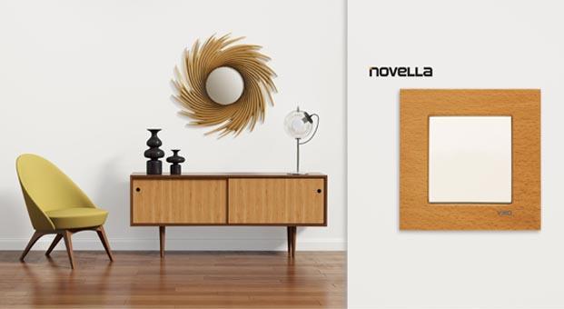 Viko Novella serisi ile ahşabın sıcaklığı evlerde
