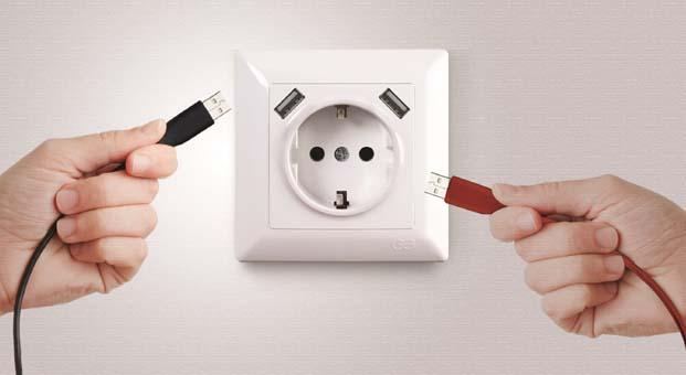 Visage USB topraklı şarjlı priz ile hayatınızı kolaylaştırın