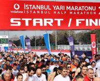 Vodafone 14. İstanbul Yarı Maratonu'nda parkur rekoru kırıldı