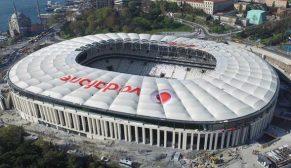 Vodafone Arena'da taraftarları Kone konfora taşıyor
