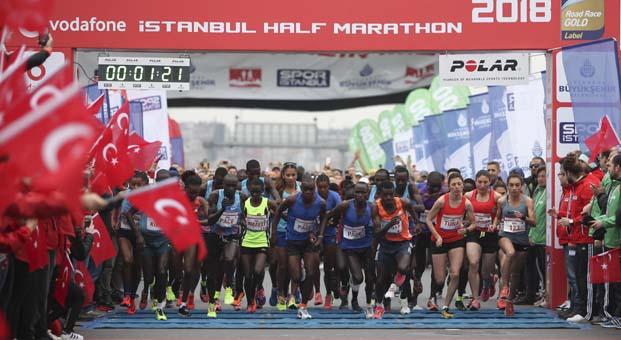 Vodafone 14. İstanbul Yarı Maratonu geç kayıt imkanı 5-6 Nisan'da
