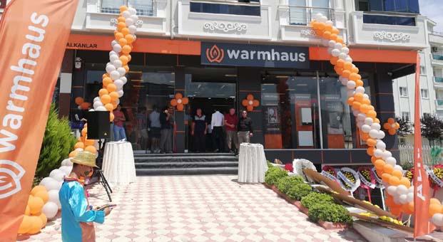 Warmhaus'un ilk mağazası Sinop'ta açıldı