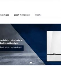 Bosch Termoteknik'ten tüm yetkili servislerine website desteği