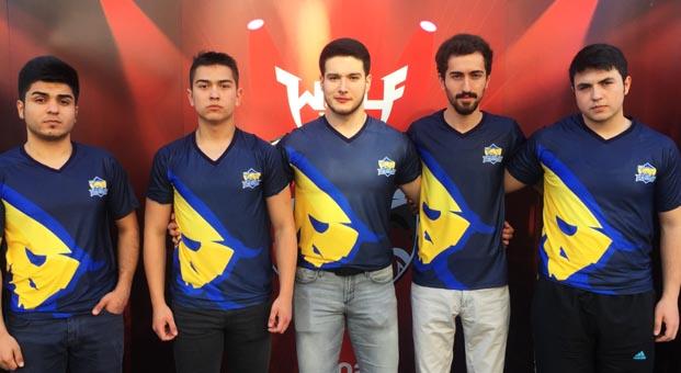 Wolfcity Gaziantep Turnuvası'nda kazanan 1907 Fenerbahçe Espor takımı oldu