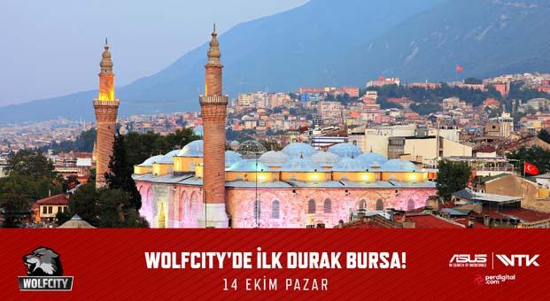 Wolfcity turnuvası Bursa'ya geliyor