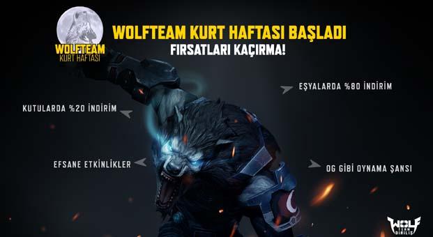 Benzersiz Wolfteam Kurt Haftası indirimleri başlıyor