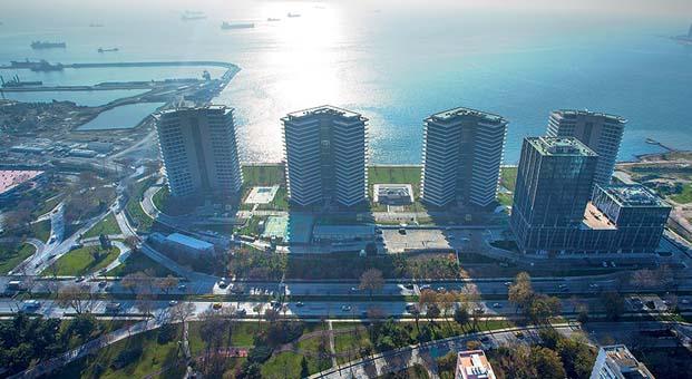 Yalı Ataköy'de konut ve iş yerleri açık artırmada
