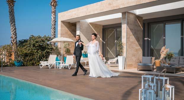 Yalıkavak Marina Beach Hotel'de hayallerin ötesinde bir düğün