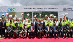 Yapı Merkezi, Doğu Afrika'yı Hint Okyanusu'na açacak 1.9 milyar dolarlık demiryolu projesinin temelini attı