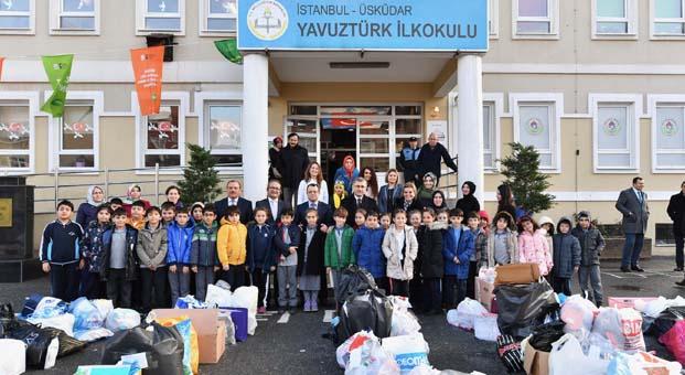 Üsküdar'da 'Uygulamalı Atık Günü' etkinliği gerçekleşti