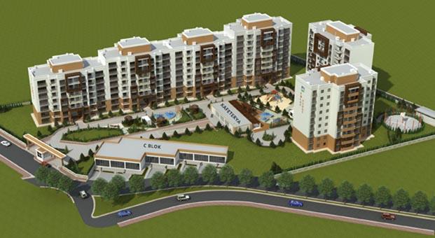 Emlak Konut Körfezkent 3. Etap Evleri Müzayedesi 22 Şubat'ta