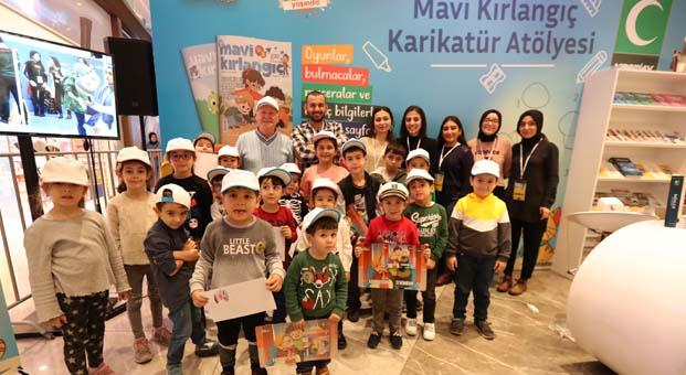 Yeşilay'ın Çocuk Dergisi Mavi Kırlangıç50'inci yaşını kutluyor