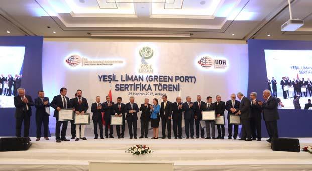 TÜRKLİM: Türk limanları karbon ayak izini azaltıyor