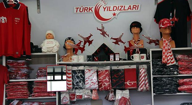 Türk Yıldızları Satış Tır'ı Bilkent Center'da