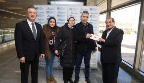 İstanbul Sabiha Gökçen 31 milyoncu yolcusunu karşıladı