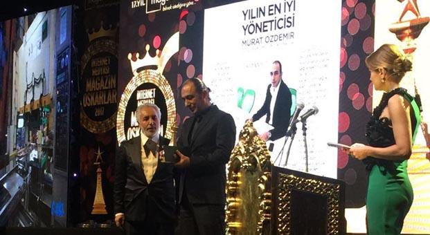 Yılın yöneticisi Murat Özdemir seçildi