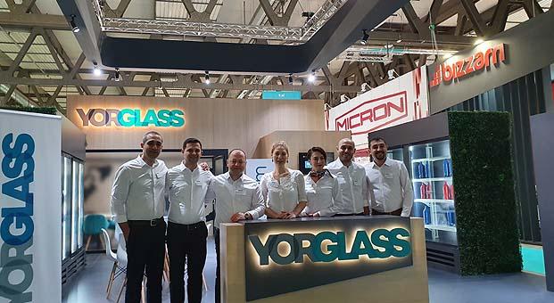 Yorglass Host Milano'da inovatif ürün ve çözümlerini sergiledi