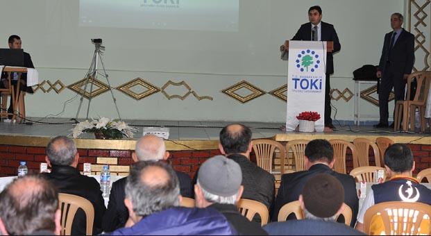 Yozgat Aydıncık'ta 91 konutun hak sahipleri belirlendi