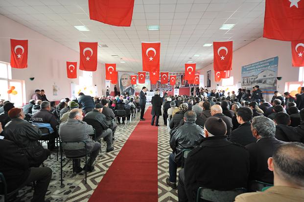 Yozgat Saraykent'te 73 konutun hak sahipleri belirlendi