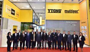 Türk Ytong ürünleri, Yapı İstanbul Fuarı'nda büyük ilgi gördü