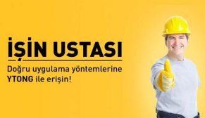 Ytong uygulamaları'İŞİN USTASI'yla yayında