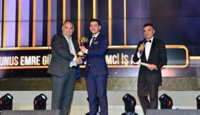 Yunus Emre Gül, Golden Palm Awards'ta 'Yılın Girişimci İş Adamı' seçildi
