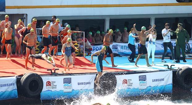 Samsung Boğaziçi Kıtalararası Yüzme Yarışı dünyanın 1 numarası