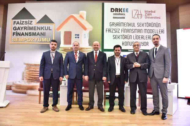 """Türkiye'de ilk defa""""Faizsiz Gayrimenkul Sempozyumu"""" düzenlendi"""